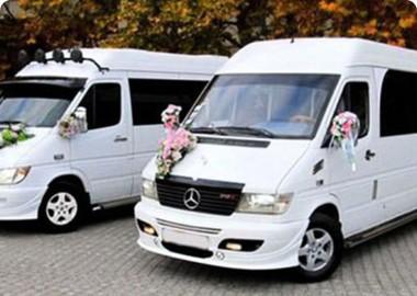 Автобусы на свадьбу